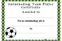 Soccer Award Certificates Template | Kiddo Shelter | Blank pertaining to Athletic Certificate Template