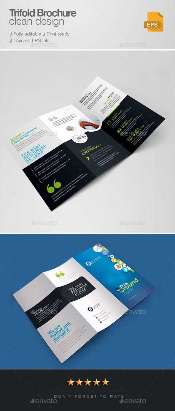 Social Media Tri Fold Brochure | Brochure Templates Pertaining To Social Media Brochure Template