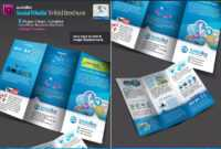 Social Media Tri-Fold Brochure Template Indd | Bi Fold throughout Social Media Brochure Template