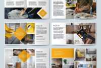 Square Portfolio Brochure Template #layered#cmyk#file inside Architecture Brochure Templates Free Download
