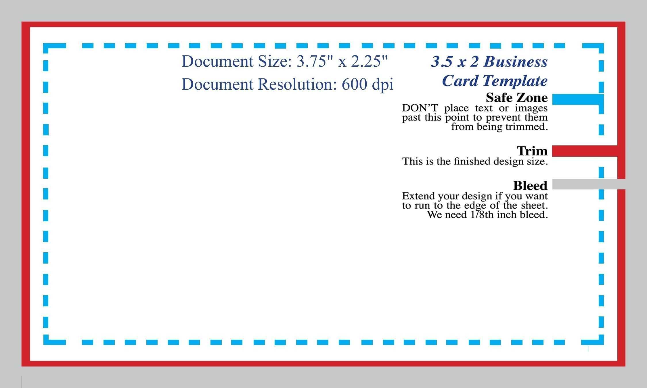Standard Business Card Blank Template Photoshop Template Inside Business Card Size Template Photoshop
