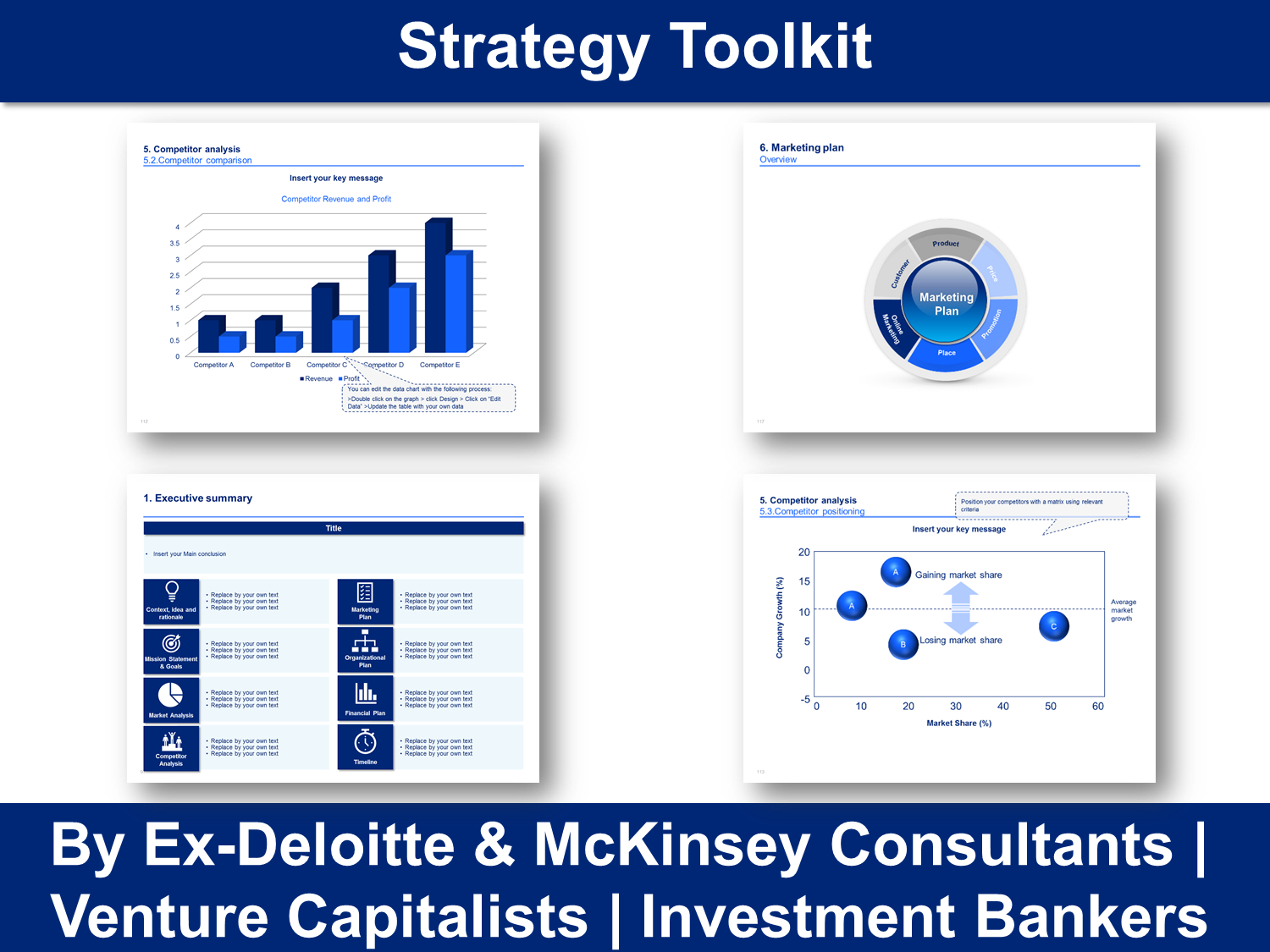 Strategy Toolkit In Powerpoint & Excel  Ex Mckinsey With Regard To Drudge Report Template