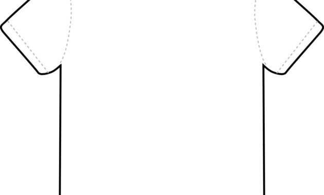 T Shirt Outline Clipart - Clipart Best - Clipart Best for Blank T Shirt Outline Template