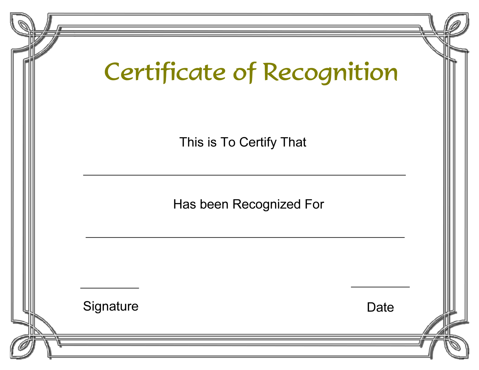 Template Free Award Certificate Templates And Employee Throughout Employee Recognition Certificates Templates Free