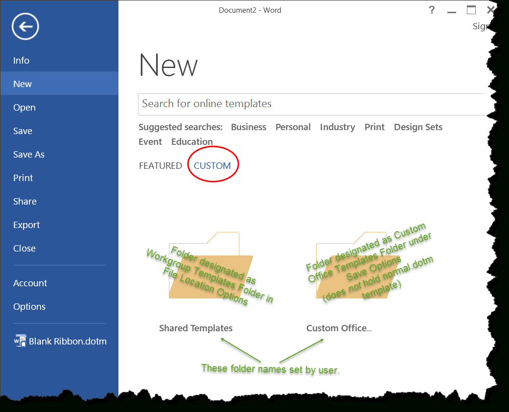 Templates In Microsoft Word - One Of The Tutorials In The Within Where Are Word Templates Stored