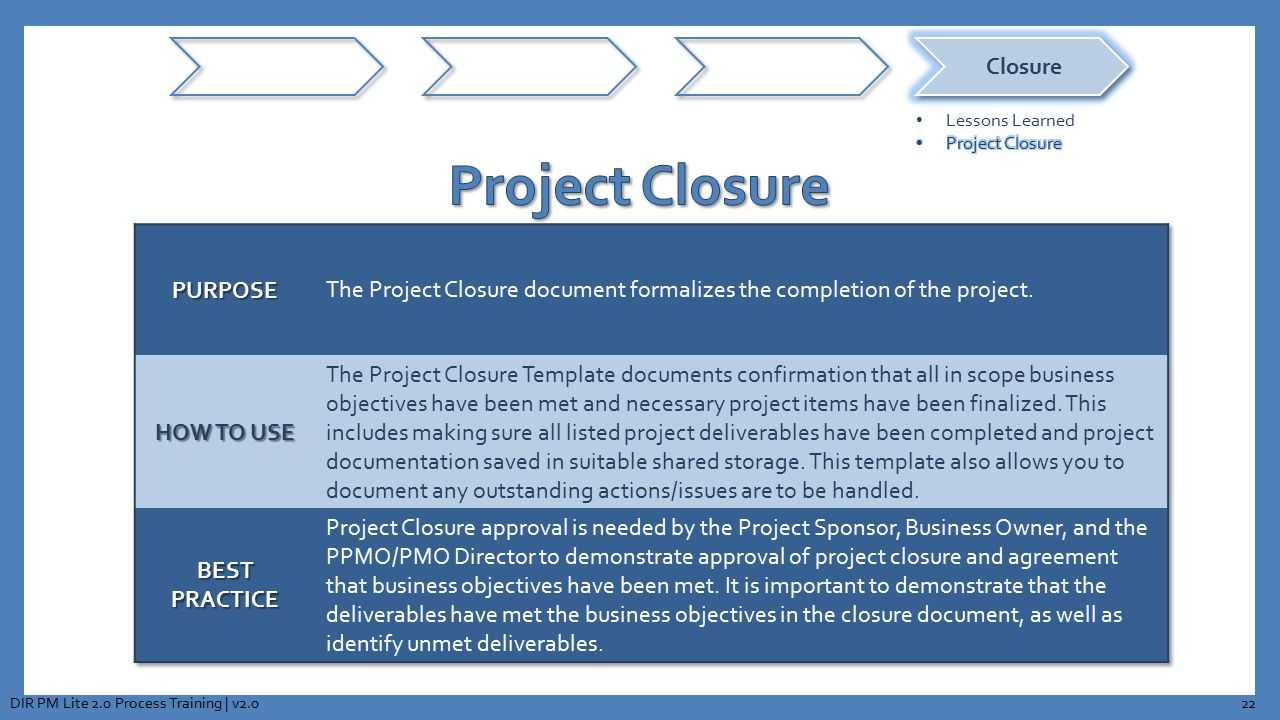 Texas Department Of Information Resources Presents - Ppt Regarding Project Closure Report Template Ppt