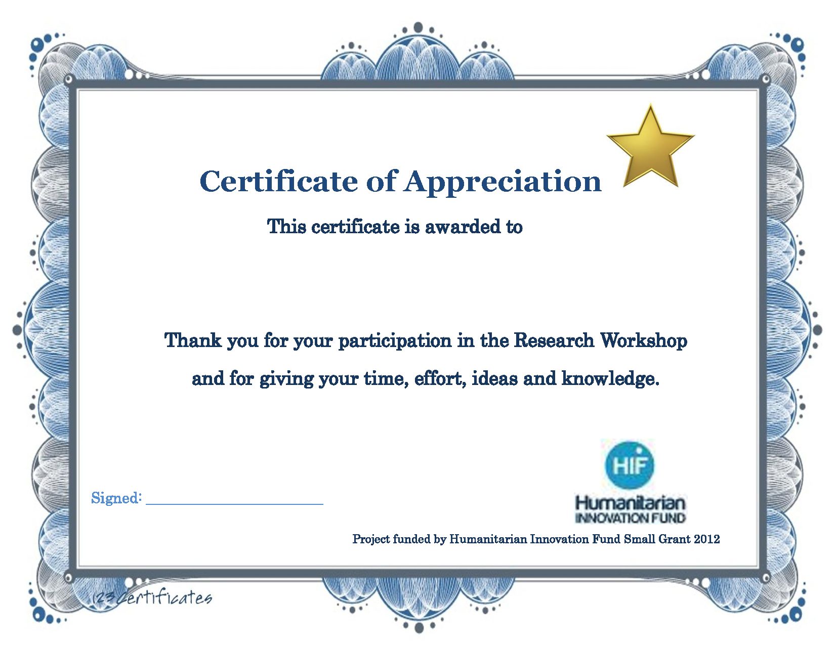 Thank You Certificate Template | Certificate Templates For Superlative Certificate Template