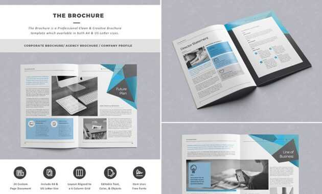 The Brochure - Indd Print Template | Template | Indesign in Brochure Template Indesign Free Download