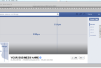 Thebrownfaminaz: Facebook Cover Photo Template Psd in Photoshop Facebook Banner Template
