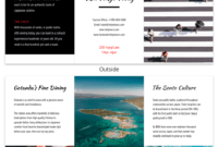 Tokyo Professional Travel Tri Fold Brochure Template pertaining to Island Brochure Template