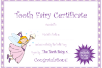 Tooth Fairy Certificate … | Yaidies Fairy | Tooth Fairy regarding Tooth Fairy Certificate Template Free