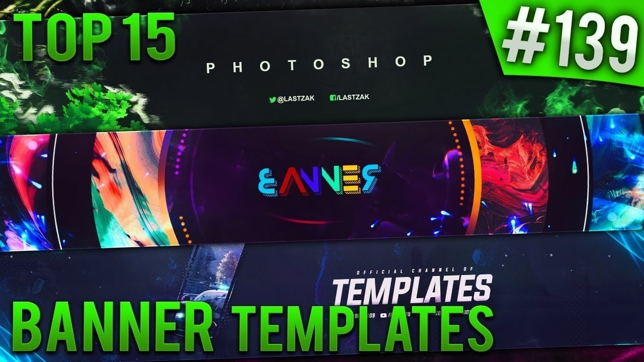 Top 15 Photoshop Banner Templates #139 (Free Download) Regarding Adobe Photoshop Banner Templates