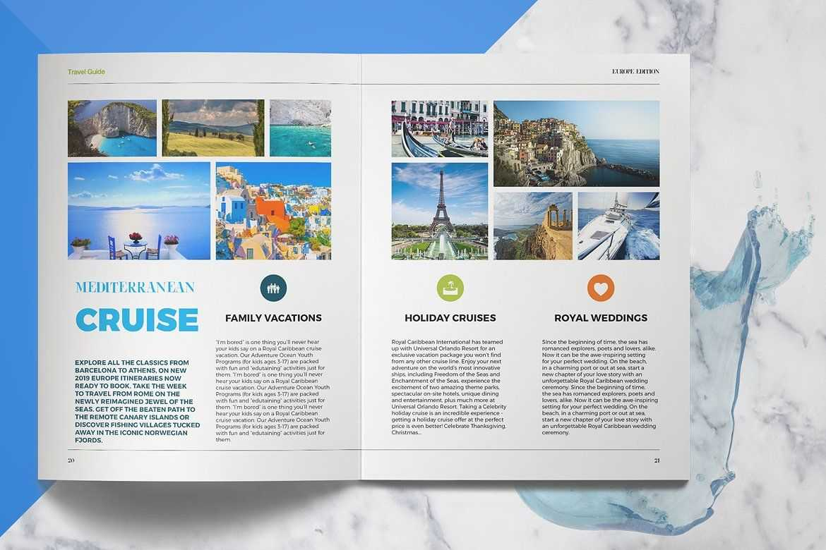 Travel Guide #create#designs#supply#products | Backgrounds In Travel Guide Brochure Template