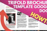 Trifold Brochure Template Google Docs in Google Docs Brochure Template