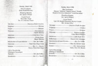 Unique Best S Of Pastor Anniversary Programs Samples with regard to Church Program Templates Word