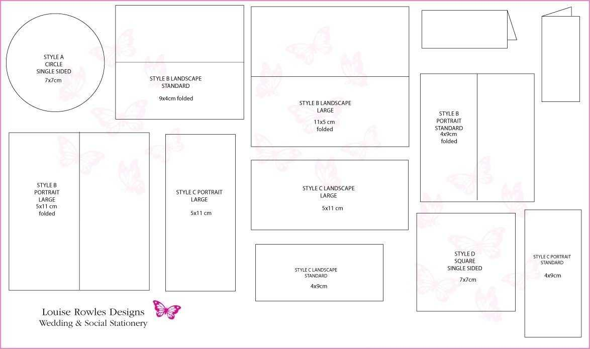 Wedding Card Template Size | Theveliger With Wedding Card Size Template