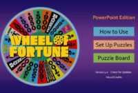 Wheel Of Fortune For Powerpoint – Gamestim pertaining to Wheel Of Fortune Powerpoint Game Show Templates