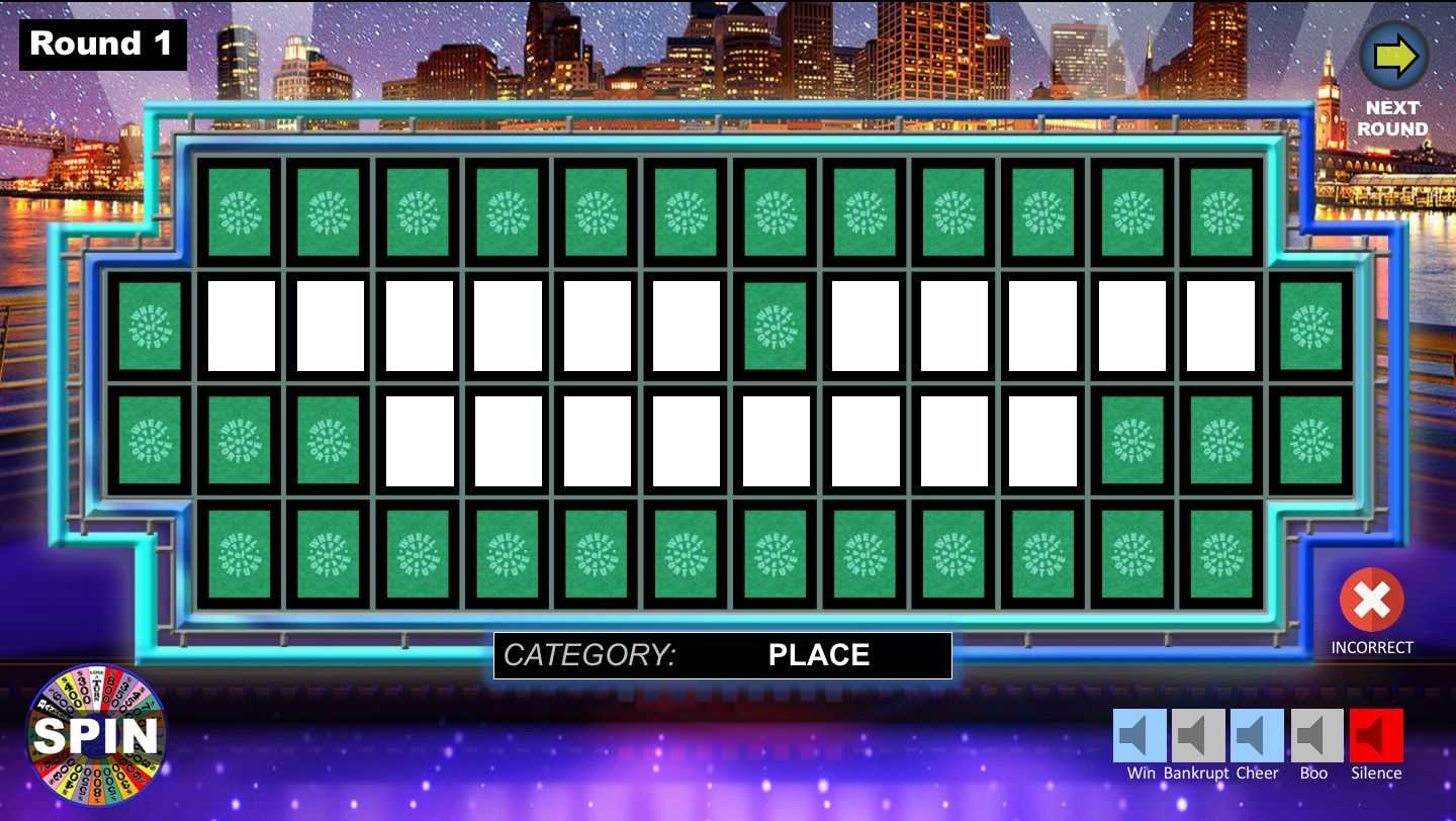 Wheel Of Fortune Powerpoint Game - Youth Downloadsyouth Intended For Wheel Of Fortune Powerpoint Game Show Templates