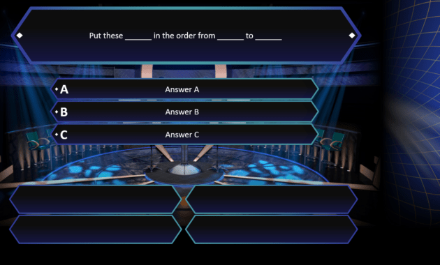 Who Wants To Be A Millionaire? | Rusnak Creative Free with regard to Who Wants To Be A Millionaire Powerpoint Template