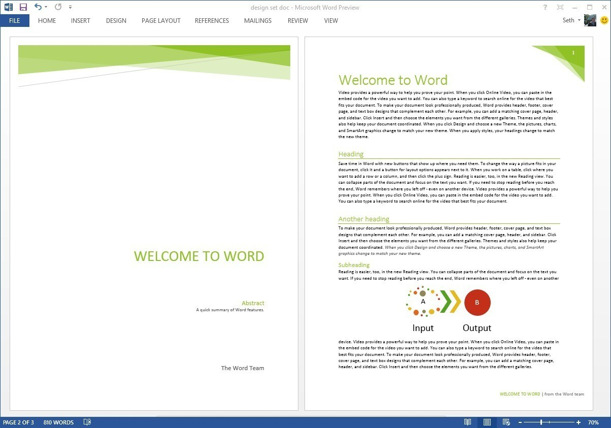 Word Document Header Templates With Regard To Header Templates For Word
