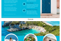 World Travel Tri Fold Brochure Template – Venngage within Country Brochure Template