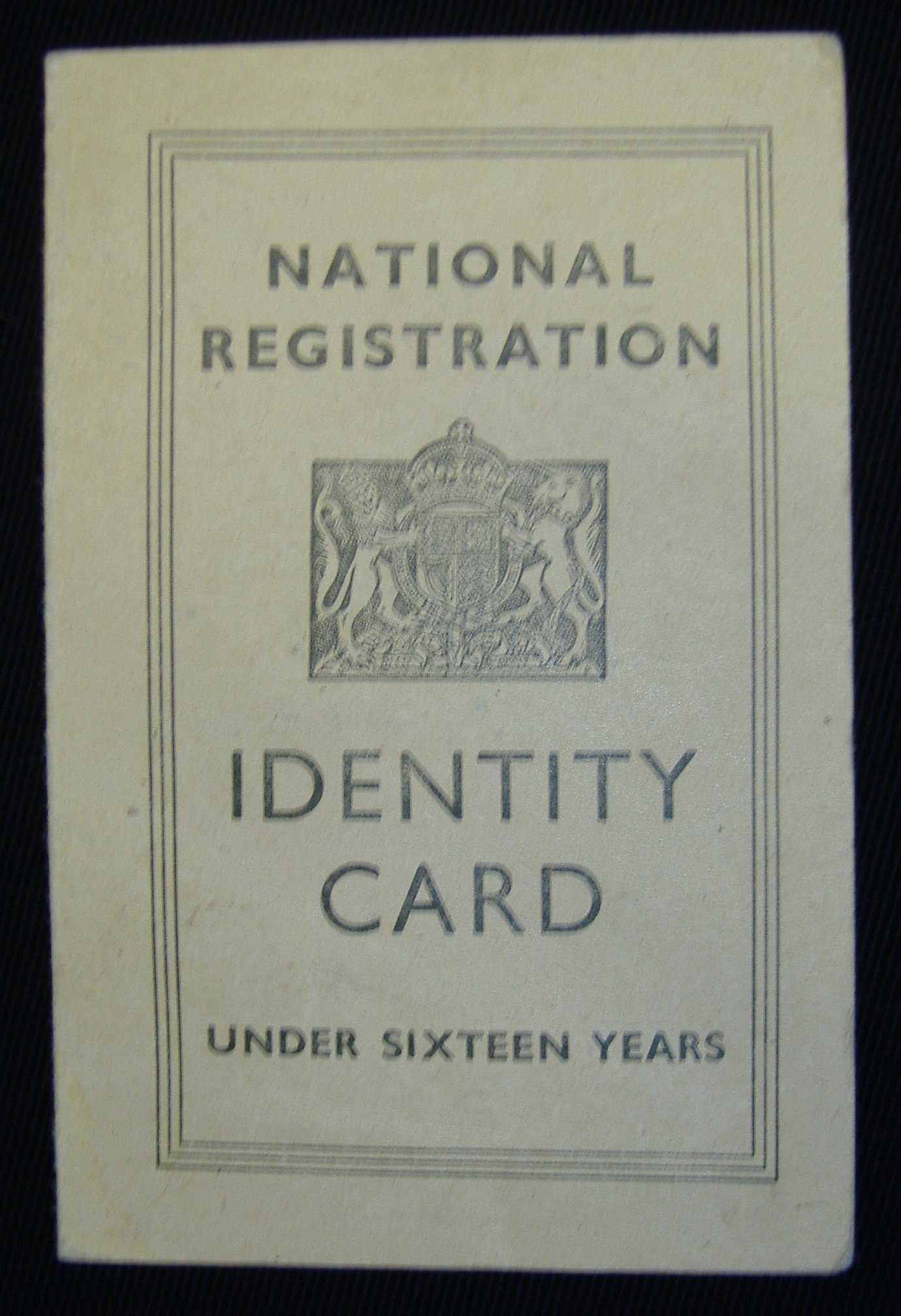 World War 2 Identity Card Template - Atlantaauctionco For World War 2 Identity Card Template